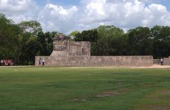Chichen Itza ruins in Mexico Royalty Free Stock Image
