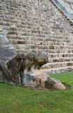 Chichen-Itza. Ruins of the Chichen-Itza, Yucatan, Mexico Stock Photography