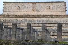 Chichen-Itza. Ruins of the Chichen-Itza, Yucatan, Mexico Royalty Free Stock Photos