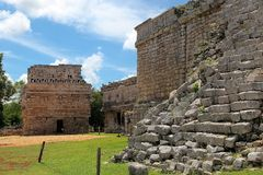 Chichen itza ruins Stock Photography