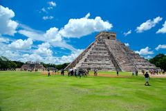 Chichen itza ruins Royalty Free Stock Photos