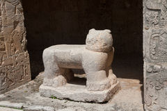 Chichen Itza Statue Stock Images