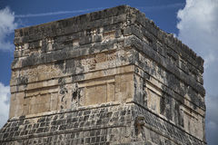 Chichen Itza. Temple of Jaguar royalty free stock images