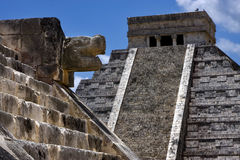 Chichen itza temple,kukulkan Royalty Free Stock Photography