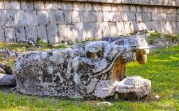 Chichen Itza, une grande ville précolombienne construite par le Maya civil Photos stock