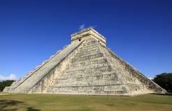 Chichen Itza in the Yucatan. Mexico Royalty Free Stock Photos