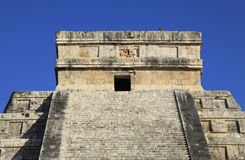 Chichen Itza in the Yucatan Stock Image