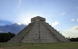 Chichen Itza in the Yucatan Stock Photos