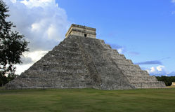 Chichen Itza in the Yucatan Stock Photography