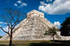 Chichen Itza in Yucatan Mexico. Chichen Itza historic site in Yucatan, Mexico Royalty Free Stock Photography