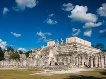 Chichen Itza in Yucatan Mexico. Chichen Itza historic site in Yucatan, Mexico Stock Photo