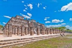Chichen Itza - Yucatan, Mexico. Temple of the Warriors, Chichen Itza, Mexico Stock Image