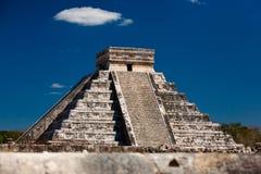 Chichen Itza. A Ziggurat in Chichen Itza, Yucatan, Mexico Stock Photo
