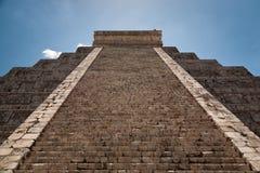 Chichen Itza. A Ziggurat in Chichen Itza, Yucatan, Mexico Royalty Free Stock Image