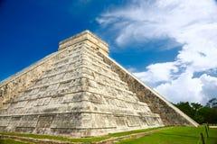 chichen itzaen mexico arkivbild