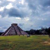 chichen itzaen mexico Royaltyfri Foto