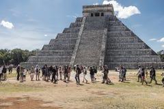 chichen itzaen mexico Royaltyfri Bild