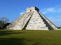 chichen itzapyramiden Royaltyfria Bilder