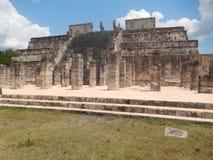 Chichen Mayan Itza - - Mexico stock foto's