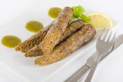 Chiches-kebabs de Seekh Photo libre de droits