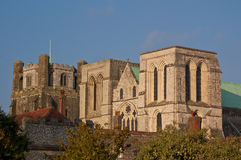 Chichester cathedral. A veiw of Chichester cathedral & bell tower Royalty Free Stock Images