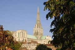 Chichester Cathedral. Sussex. England Royalty Free Stock Image