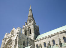 Chichester Catheral Royalty Free Stock Images