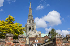 Chichester dans le Sussex photographie stock