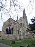 Chichester domkyrka royaltyfria foton