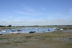 Chichester-Hafen bei Bosham sussex england Lizenzfreie Stockfotos