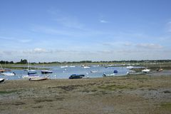 Chichester Harbour at Bosham. Sussex. England Royalty Free Stock Photos