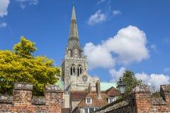 Chichester i Sussex arkivbild