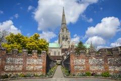 Chichester i Sussex fotografering för bildbyråer
