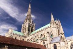 Chichester-Kathedrale Stockbild