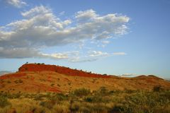 Chichester Range, Pilbara Royalty Free Stock Photos