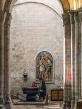 CHICHESTER, SUSSEX/UK DEL OESTE - 8 DE FEBRERO: Interior de Chichester Imagen de archivo libre de regalías