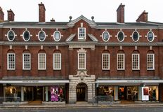 House of Fraser Frontage. Chichester, United Kingdom - October 06 2018: The front of The House of Fraser department store in West Street stock image
