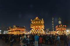Chichibu-Nachtfestival lizenzfreie stockbilder