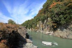 Free Chichibu Red Cliff In Nagatoro Royalty Free Stock Photo - 108231575