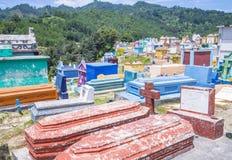 Chichicastenango cemetery Stock Image
