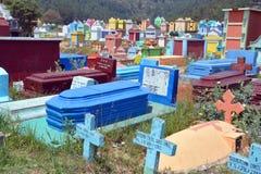 Chichicastenango cemetery Royalty Free Stock Photography