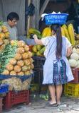 Chichicastenango market Royalty Free Stock Photos