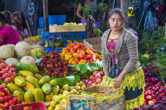 Chichicastenango market Stock Photography