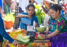 Chichicastenango market Royalty Free Stock Images
