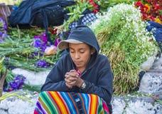 Chichicastenango market Royalty Free Stock Photography