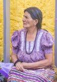 Chichicastenango marknad Fotografering för Bildbyråer