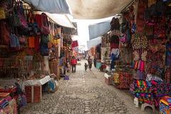 Chichicastenango, mercado del artesano de Guatemala Imagen de archivo libre de regalías