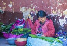 Chichicastenango rynek Zdjęcie Royalty Free