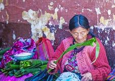 Chichicastenango rynek Fotografia Stock