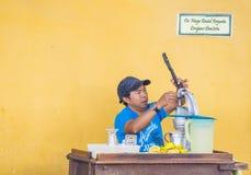Chichicastenangomarkt Stock Foto's